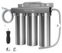 3-stage Under Sink Ultrafiltration Stainless Steel Water Filter System Waterdrop TST-UF