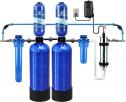 Aquasana EQ PRO-AST Whole House Well System – Water Softener Alternative w/UV Purifier Salt-Free Descaler, Carbon & KDF Media-Filters Sediment & Chlorine-500,000 Gl, Blue